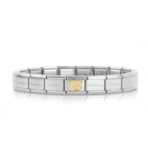 Nomination charm bracelet